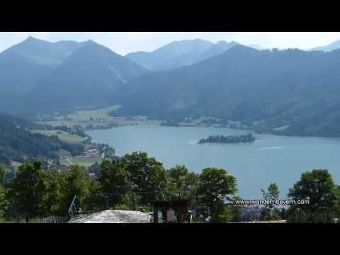 Ausflug zur Schliersberg Alm bei Schliersee in Bayern