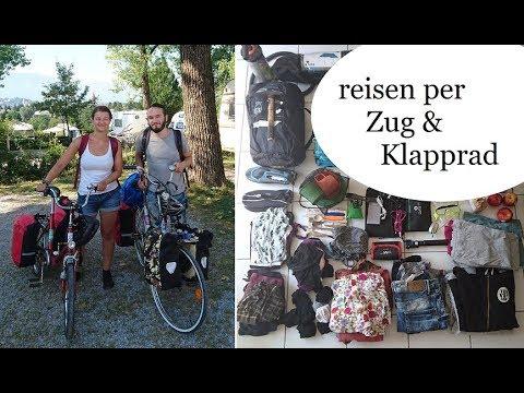 Reisen per Zug & Klapprad - Wie hats geklappt? Kosten? | minimalistisch Reisen