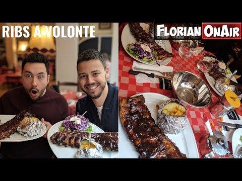 RIBS A VOLONTE avec JOJOL et HENRI PFR à BRUXELLES : Qui en mangera le +? - VLOG #739