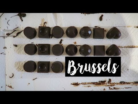 VLOG: Brussels, Belgium | Chocolate Making Workshop & Atomium & Mini Europe
