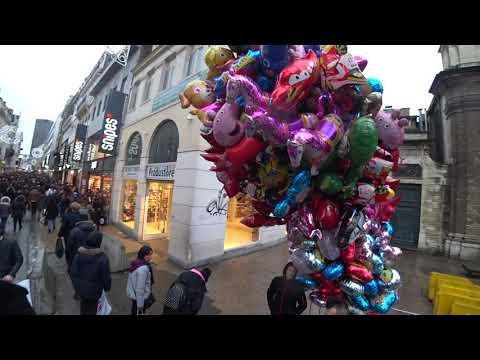 Rue Neuve Bruxelles ( Brüksel'in Gezilecek Yerleri )