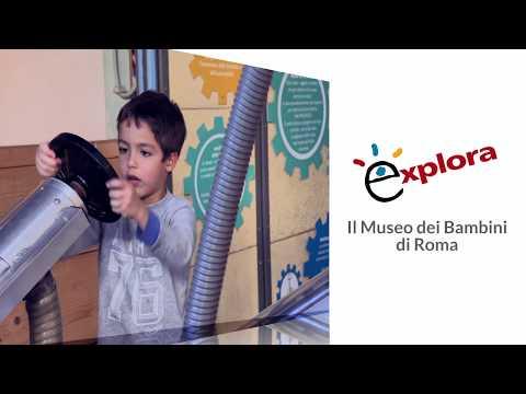 Explora, il Museo dei Bambini di Roma