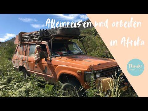 In Afrika Alleinreisen und arbeiten als Frau, Lilli erzählt ihre Geschichte