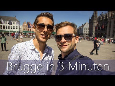 Brügge in 3 Minuten   Reiseführer   Die besten Sehenswürdigkeiten